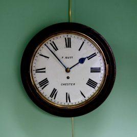 F Butt Wall Clock
