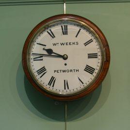 Weeks Dial Clock