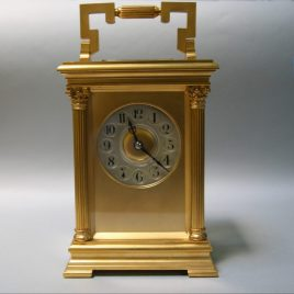 Antique French Giant Carriage Clock