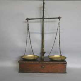 Antique Gold Weighing Scales