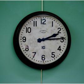 Dictograph Clock