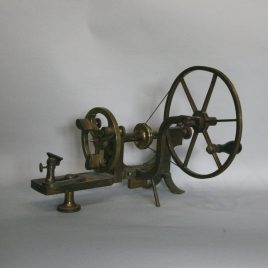 Antique watch lathe