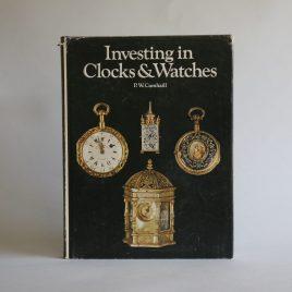 Investing in clocks & watches book P W Cumhail