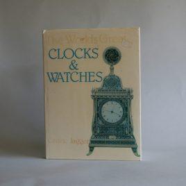 Worlds Greatest Clocks & Watches Book Cedric Jagger