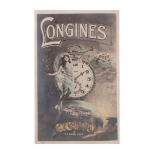 Longines Advert Postcard