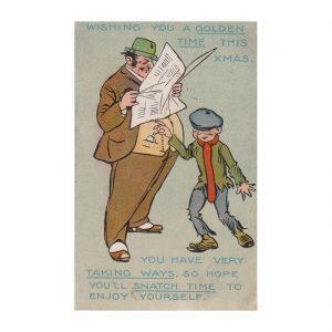 Pickpocket Postcard