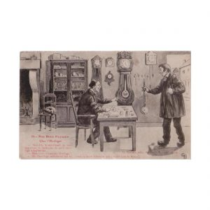 French Horologist Postcard