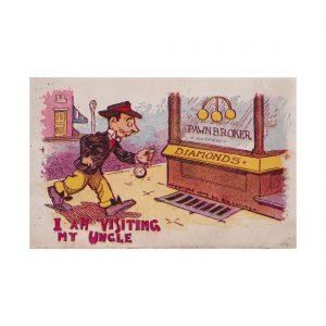 Pawnbroker Postcard