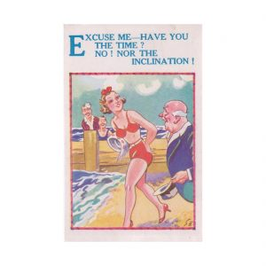 Saucy Seaside Postcard