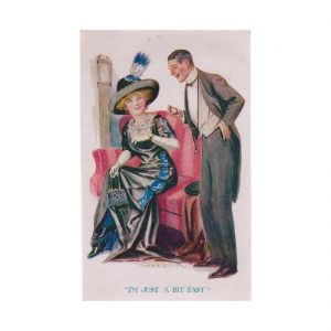 Edwardian Couple Postcard