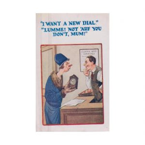 Horologist Humour Postcard