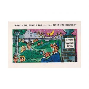 Saucy Park Postcard