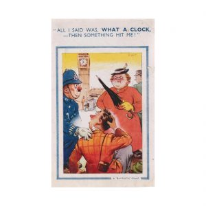 Saucy Policeman Postcard