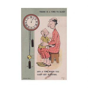 Clock Postcard