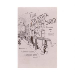 Fine Weather Society Postcard