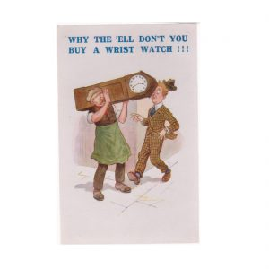 Why Don't You Buy a Wristwatch Postcard