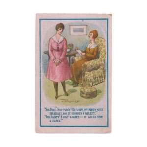 Reg Maurice Postcard