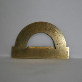Brass Protractor
