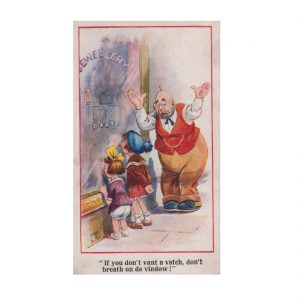 Stylised Children Postcard