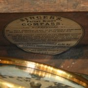 Singer's Gimbal Compass Label
