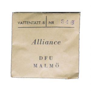 Alliance Watch Paper Packet
