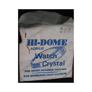 Hi Dome Watch Paper 260
