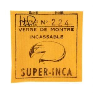 Super Inca Watch Paper 224