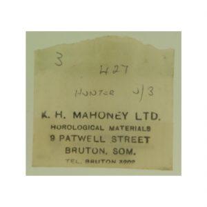 Mahony Watch Paper 427