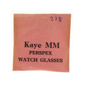 Kaye Watch Paper 278