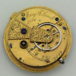 Mary A Sewell Female Watchmaker