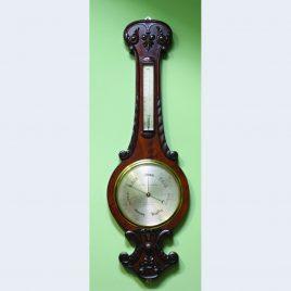 Negetti & Zambra Barometer & Thermometer