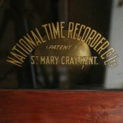 National Time Recording Co Limited Clock