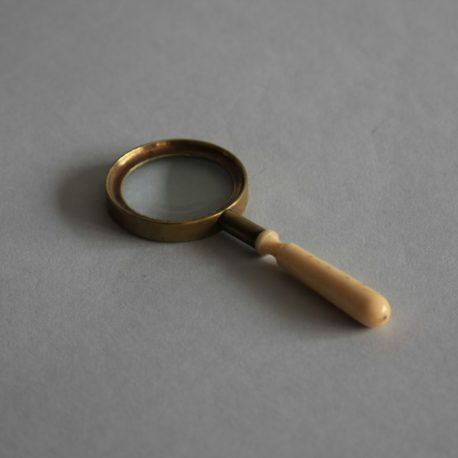 TH45 19th Century Hand Magnifier a