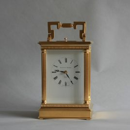 Gilded Carriage Clock